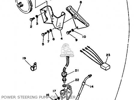 Yamaha V6 4.3 YEMS 1990 ENGINE parts lists and schematics