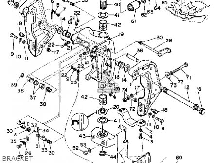 Yamaha V6 Excel G 1988 parts list partsmanual partsfiche
