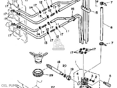 Yamaha V6 EXCEL G 1988 parts lists and schematics