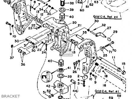 Yamaha V6 Special J 1986 parts list partsmanual partsfiche