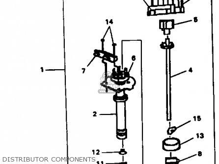 Yamaha V8 5.7 1990 ENGINE parts lists and schematics