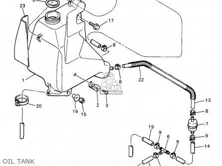 Yamaha Vk540ea 1997 parts list partsmanual partsfiche