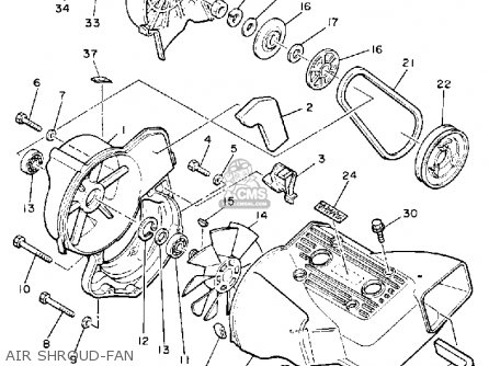 Yamaha VK540EN 1989 parts lists and schematics