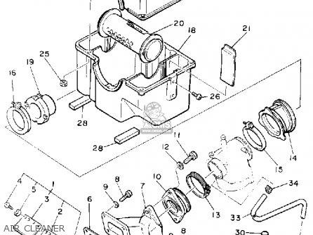 Yamaha Vk540ep Viking 1990 parts list partsmanual partsfiche