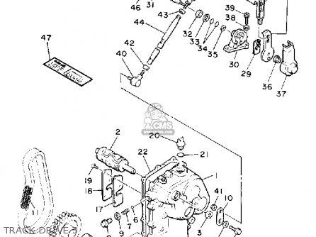 Yamaha VK540EP VIKING 1990 parts lists and schematics