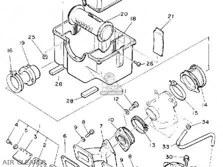 Yamaha VK540ER VIKING 1991 parts lists and schematics