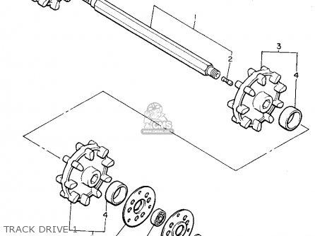 Yamaha Vk540eu (8ac1) 1994 parts list partsmanual partsfiche