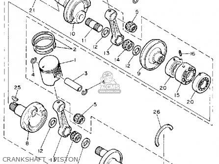 Yamaha VK540M 1988 parts lists and schematics