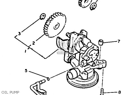 Yamaha Vmx12 Vmax 1992 (n) Usa parts list partsmanual