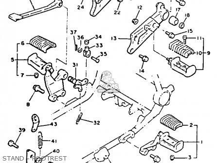 Yamaha Vmx12 Vmax 1992 (n) Usa parts list partsmanual