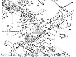 Yamaha Vmx1200 1988 V-max1200 Usa parts list partsmanual
