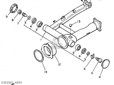 Yamaha Vmx12n V-max 1985 parts list partsmanual partsfiche