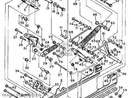 Yamaha VMX540G V-MAX 1983 parts lists and schematics