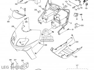 Yamaha VP300 2002 5SE1 ENGLAND 1B5SE-300G4 parts lists and