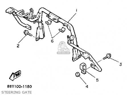 Yamaha VT480R VENTURE 1991 parts lists and schematics