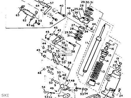 Yamaha Vt480t Venture Xl 1993 parts list partsmanual