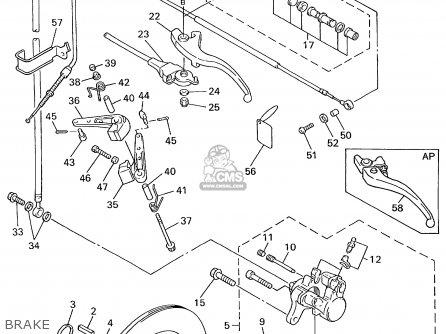 Yamaha Vt600/700c 1999 parts list partsmanual partsfiche