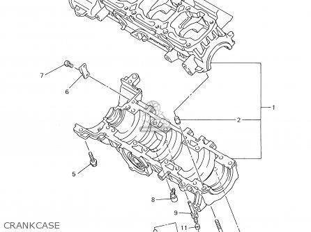 Yamaha Vt700/600d 2000 parts list partsmanual partsfiche