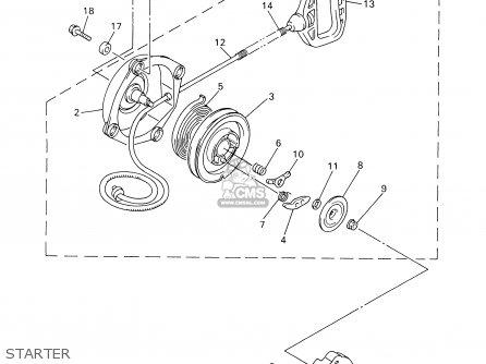 Yamaha VT700/600D 2000 parts lists and schematics