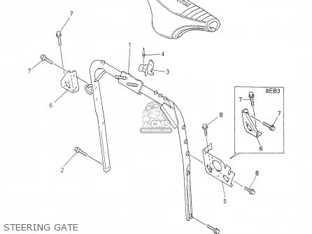 Yamaha VT700/600F 2001 parts lists and schematics