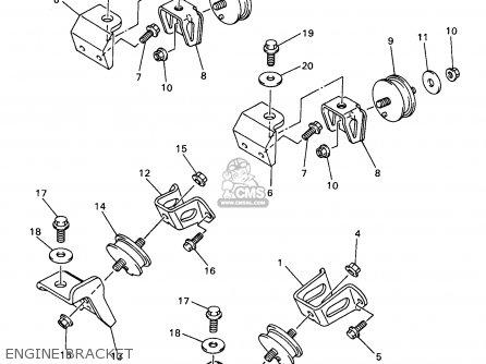 Yamaha VX500/600XTCDB 1998 parts lists and schematics