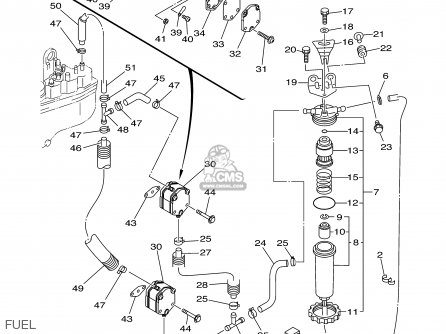 Yamaha VZ225/VZ250TLRB 2003 parts lists and schematics