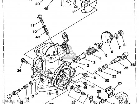 Yamaha WB700S 1994 TAIWAN parts lists and schematics
