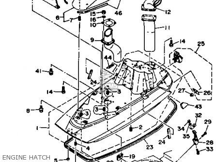 Yamaha Wb700s 1994 Taiwan parts list partsmanual partsfiche