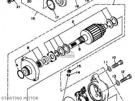 Yamaha Wb760v Wave Blaster 1997 parts list partsmanual