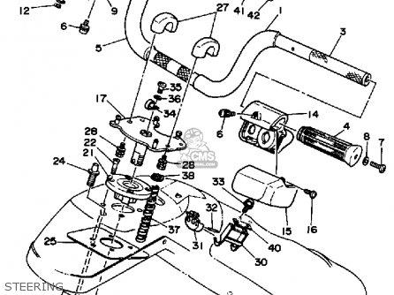 Yamaha Wj500f 1989 Ew3 Wavejammer Usa parts list