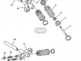 Yamaha WR125R 2010 22B3 EUROPE 1J22B-300E2 parts lists and