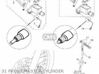 Yamaha WR125R 2011 22B5 EUROPE 1K22B-300E2 parts lists and