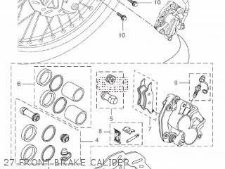 Yamaha WR125R 2013 22B7 EUROPE 1M22B-300E2 parts lists and