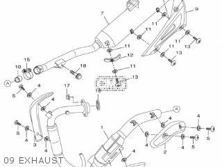 Yamaha WR125X 2009 22B2 EUROPE 1H22B-300EB parts lists and