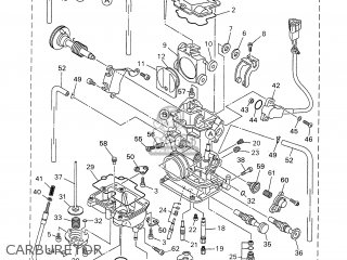 Yamaha WR250F 2001 5PH2 ENGLAND 115PH-100E3 parts lists