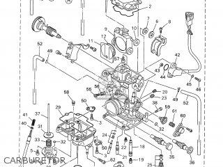 Yamaha Wr250f 2001 5ph2 England 115ph-100e3 parts list