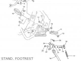 Yamaha WR250F 2001 5PH2 FRANCE 115PH-100E3 parts lists and