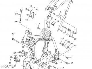 Yamaha WR250F 2001 5PH2 ITALY 115PH-100E3 parts lists and