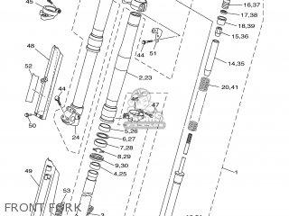 Yamaha WR250F 2001 5PH2 SPAIN 115PH-100E3 parts lists and