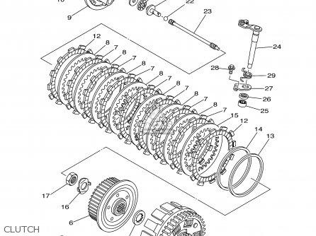 Yamaha Wr250f 2003 (3) Usa parts list partsmanual partsfiche