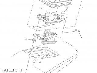 Yamaha WR250F 2003 5UM2 ENGLAND 1B5UM-100E1 parts lists