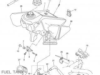 Yamaha WR250F 2003 5UM2 FRANCE 1B5UM-100E1 parts lists and