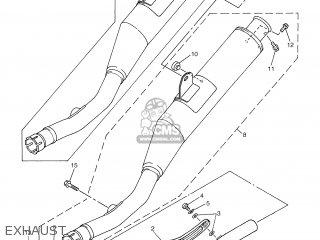 Yamaha WR250F 2003 5UM2 GERMANY 1B5UM-100E1 parts lists