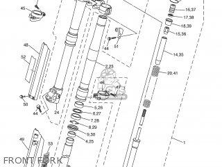 Yamaha WR250F 2003 5UM2 SWEDEN 1B5UM-100E1 parts lists and