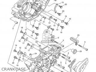 Yamaha WR250F 2004 5UM6 FRANCE 1C5UM-100E1 parts lists and
