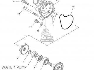 Yamaha WR250F 2005 5UM9 ENGLAND 1D5UM-100E1 parts lists