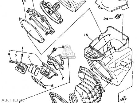Yamaha WR250Z 1991 (M) USA parts lists and schematics