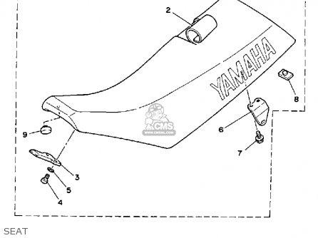 Yamaha WR250Z 1991 (M) USA parts lists and schematics
