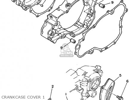 Yamaha Wr250z 1994 (r) Usa parts list partsmanual partsfiche