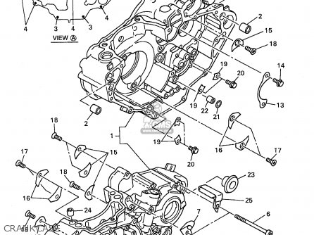 Yamaha Wr400f 1998 (w) Usa England parts list partsmanual